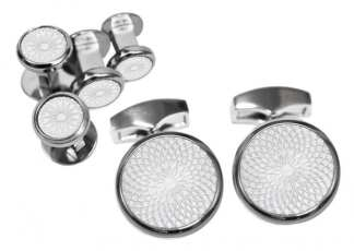 Tateossian Studs Cuff Links Hi End