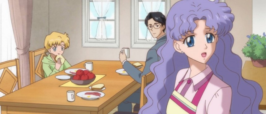 The Tsukino Family (Ep. 15 of Sailor Moon Crystal)