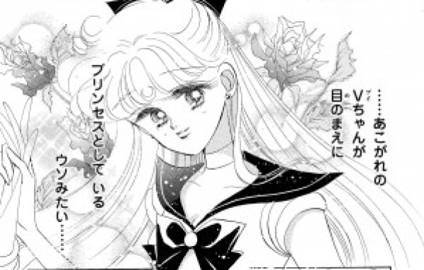 Sailor Venus as Princess Serenity
