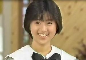 May 21, 1987 – Noriko Sakai on the show Gochisosama