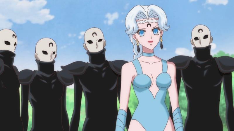 Beruche and the Manga-Style Generic Droids