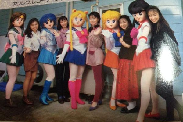 The original Sailor Moon voice cast and characters