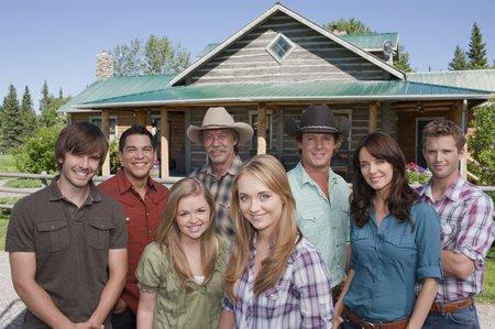The cast of Heartland