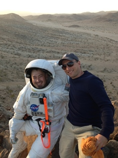 Jeff with Pascal onsite