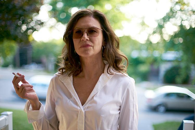 Erica durance smoking
