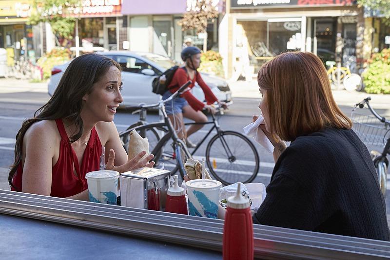 Kate (Catherine Reitman) and Anne (Dani Kind)