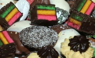 Dessert item featured at the Italian-American Heritage Festival