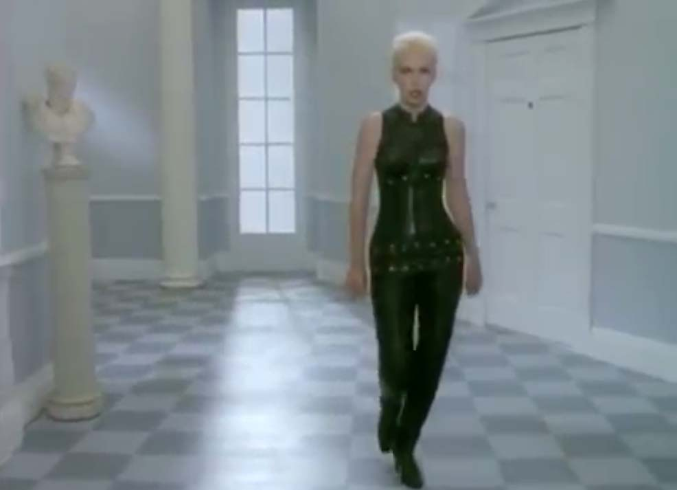 Eurythmics - Missionary Man - Official Music Video