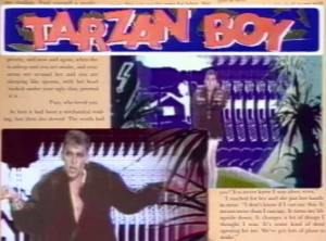 Baltimora Tarzan Boy Official Music Video