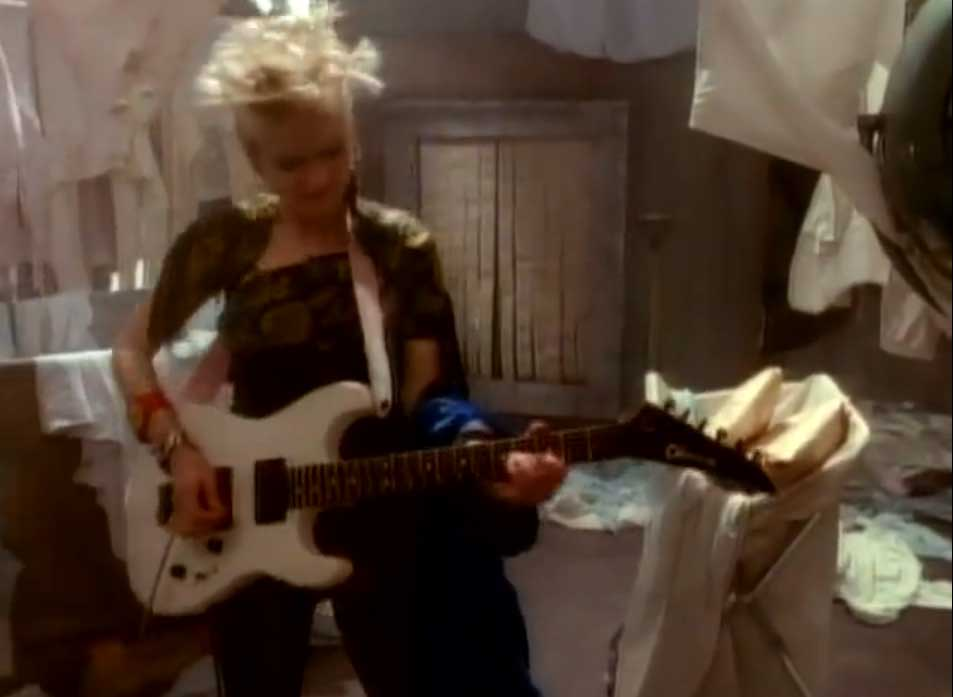 Cyndi Lauper - Hole in My Heart - Official Music Video
