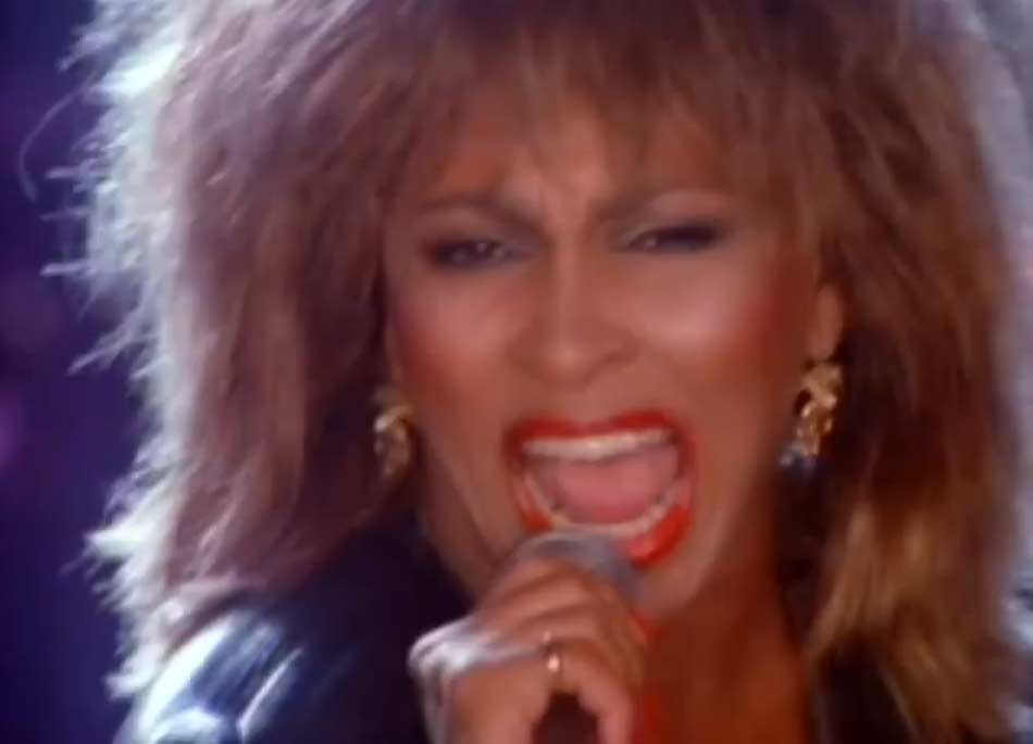 Tina Turner - Better Be Good To Me - Official Music Video