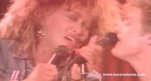 Bryan Adams and Tina Turner - It's Only Love - Music Video
