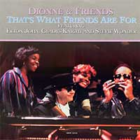 Dionne Warwick That's What Friends Are For Official Single Cover