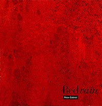 Peter Gabriel Red Rain Single Cover