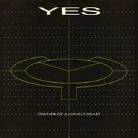 Yes - Owner of a Lonely Heart - Single Cover
