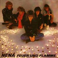 Nena - Feuer und Flamme - single cover