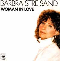 Barbra Streisand - Woman In Love - Single Cover