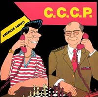 C.C.C.P. - American-Soviets - Single Cover