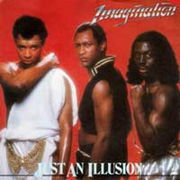 Imagination - Just An Illusion - Single Cover