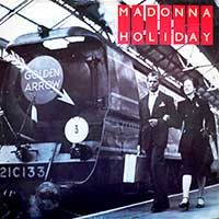 madonna holiday single cover