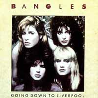 The Bangles - Going Down to Liverpool - Single Cover