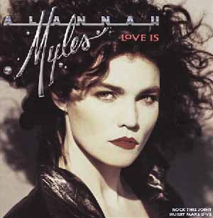 Alannah Myles Love Is Single Cover