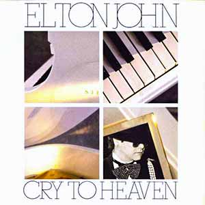 Elton John Cry To Heaven Single Cover