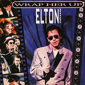 Elton John George Michael Wrap Her Up Single Cover