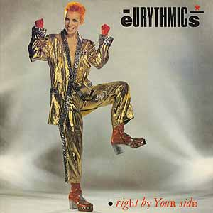 Eurythmics Right By Your Side Single Cover