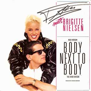 Falco Brigitte Nielsen Body Next to Body Single Cover