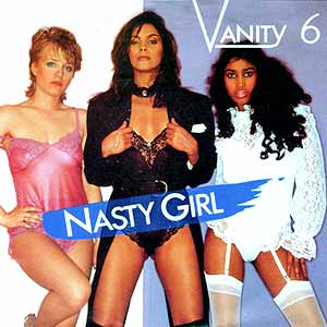 Vanity 6 Nasty Girl Single Cover