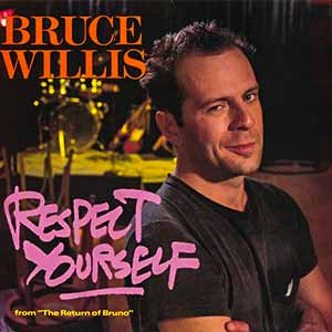 Bruce Willis - Respect Yourself - single cover - pointer sisters