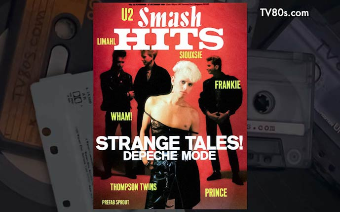 80's Music Magazines Covers – 1984
