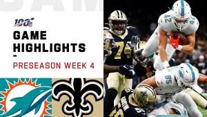 NFL 2019 Week 4 Highlights Dolphins vs. Saints