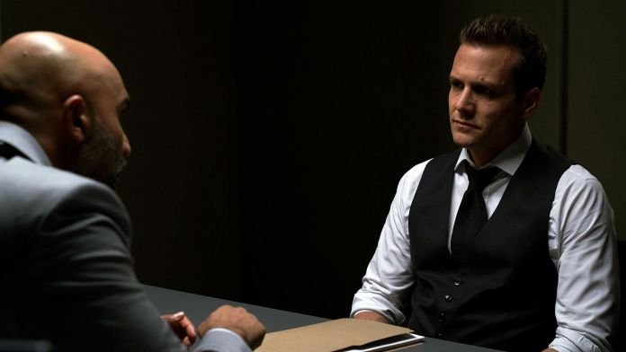 Suits Season 9 Episode 8 Andrew Luck Retires