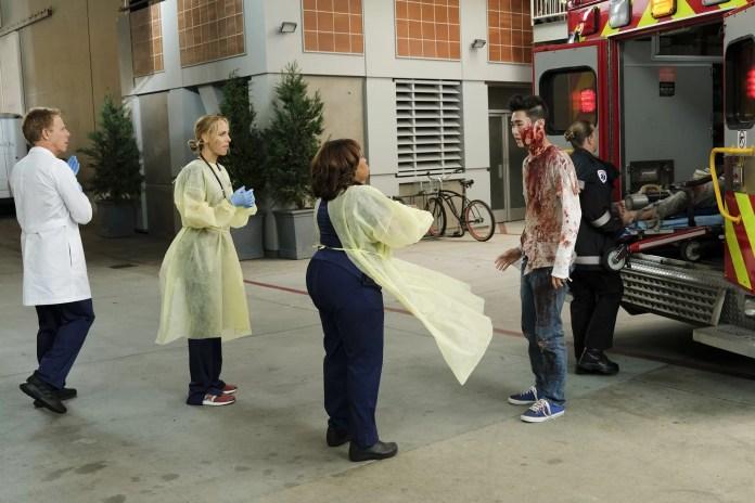 'Grey's Anatomy' Season 16 Episode 6 GREG GERMANN, KIM RAVER, CHANDRA WILSON, EUGENE KO