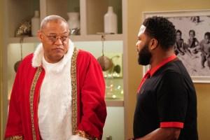 Blackish Season 6 Episode 10 LAURENCE FISHBURNE, ANTHONY ANDERSON