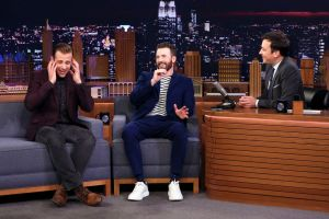 jimmy fallon Bro with Chris and Scott Evans