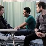 The Resident Season 3 Episode 10 L-R: Guest star Cayden Boyd, Manish Dayal and Matt Czuchry