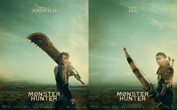 Official Teaser Posters for Monster Hunter