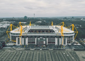 Germany's largest football stadium will become a coronavirus treatment center