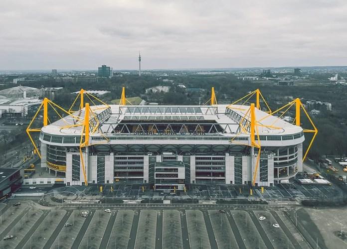 Germany's largest football stadium will become a coronavirus treatment center