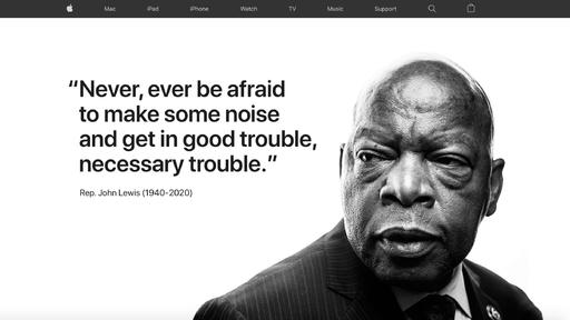 John Lewis Good Trouble - Fight for Civil Rights
