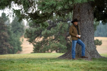 "Kevin Costner as John Dutton. season 3 Episode 6 of Yellowstone - ""All for Nothing"""