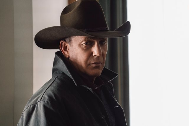 """Kevin Costner as John Dutton. The Season Three Finale of Yellowstone - """"The World is Purple"""" Premieres August 23rd at 9 P.M. on Paramount Network."""