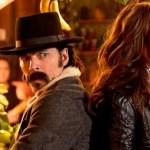 Wynonna Earp Season 4 Episode 3 (l-r) Tom Rozon as Doc Holliday, Melan