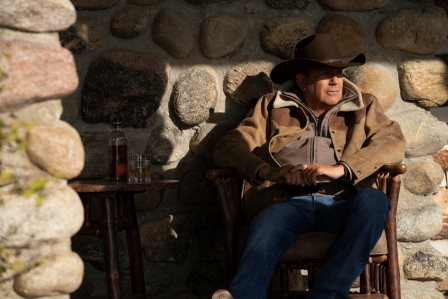 #Yellowstone season 4 Kevin Costner as