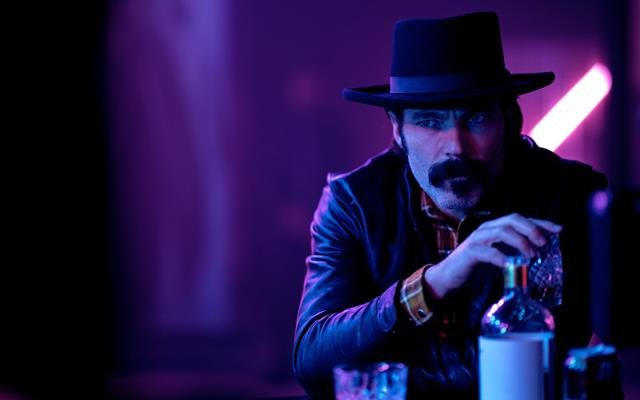 "Doc Holliday, played by Tim Rozon, stars on Wynonna Earp Season 4 Episode 5 ""Holy War: Part 1""."