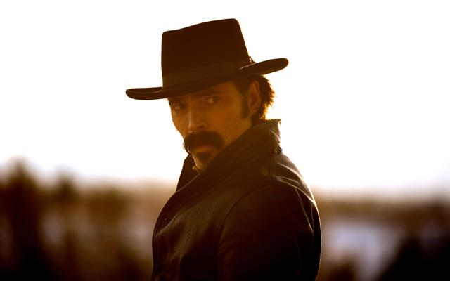 Doc Holliday, played by Tim Rozon, stars on Wynonna Earp Season 4 Episode 5.