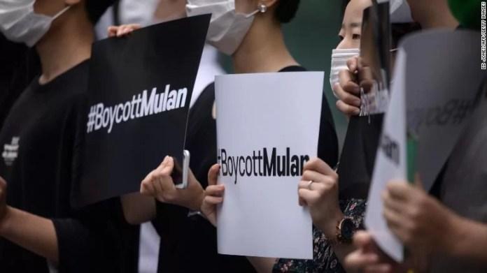 #BoycottMulan Trending Again